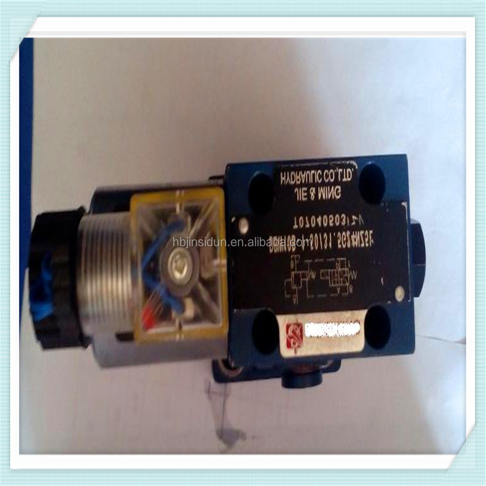 JSD High quality!!! DC 24V Plastic hydraulic solenoid valves for the sapre parts of hydraulic equipments