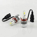 Guangzhou car led headlight C6 36w H7 H8 H9 H11 880 881 led headlight