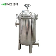 Drinking water purification system ss 304 / pvc water purifier 5 micron pp cartridges filter housing
