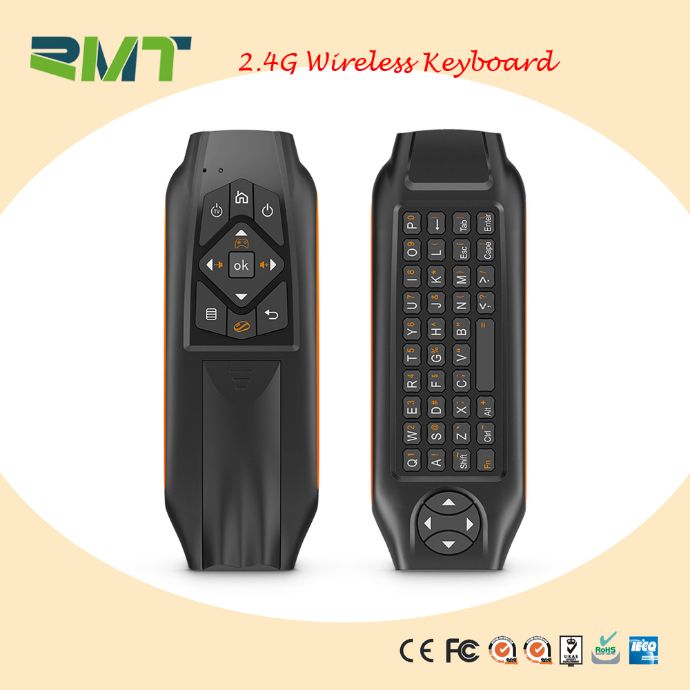 2.4G antenna wireless keyboard universal remote control for smart tv