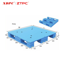 Factory price standard size heavy duty industrial cheap plastic euro pallet 1200 X 800