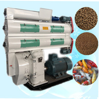 High Output Sinking Carp Fish Feed Pellet Mill