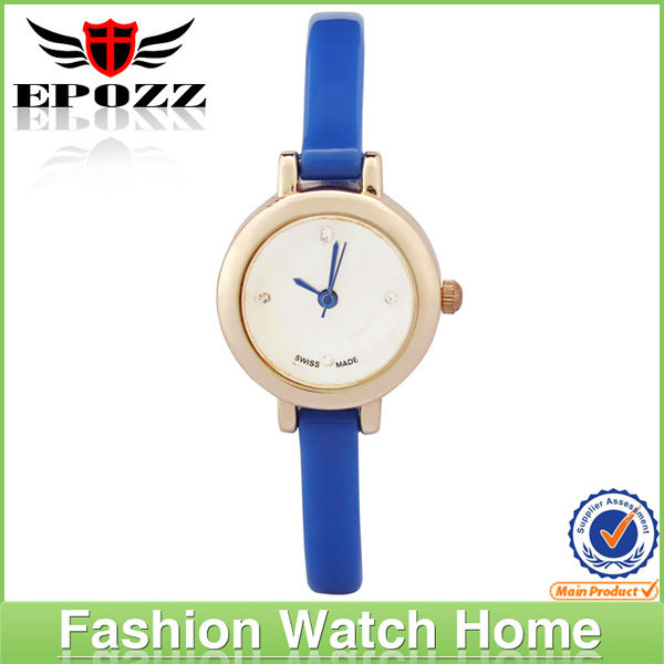 Fashion colorful famous swiss watch brands logos for ladies