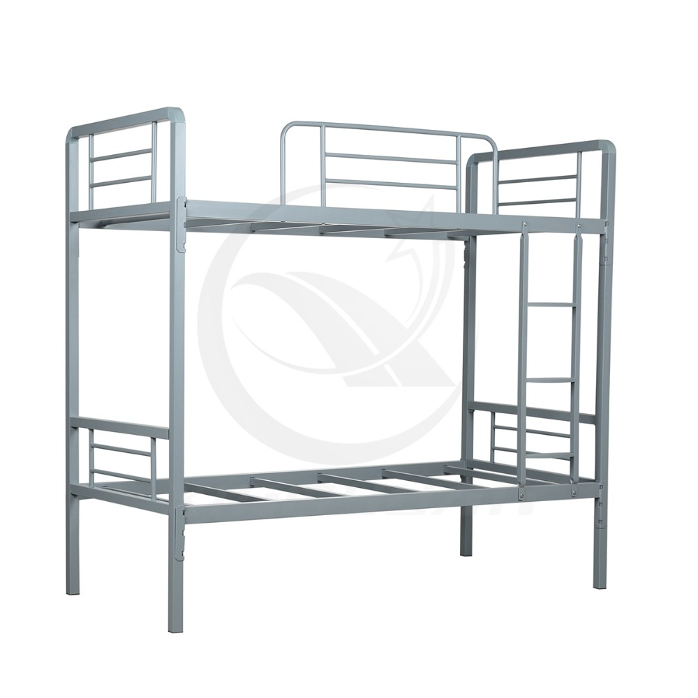 Metal Frame Bunk Beds Simple And Strong Metal Bunk Bed For