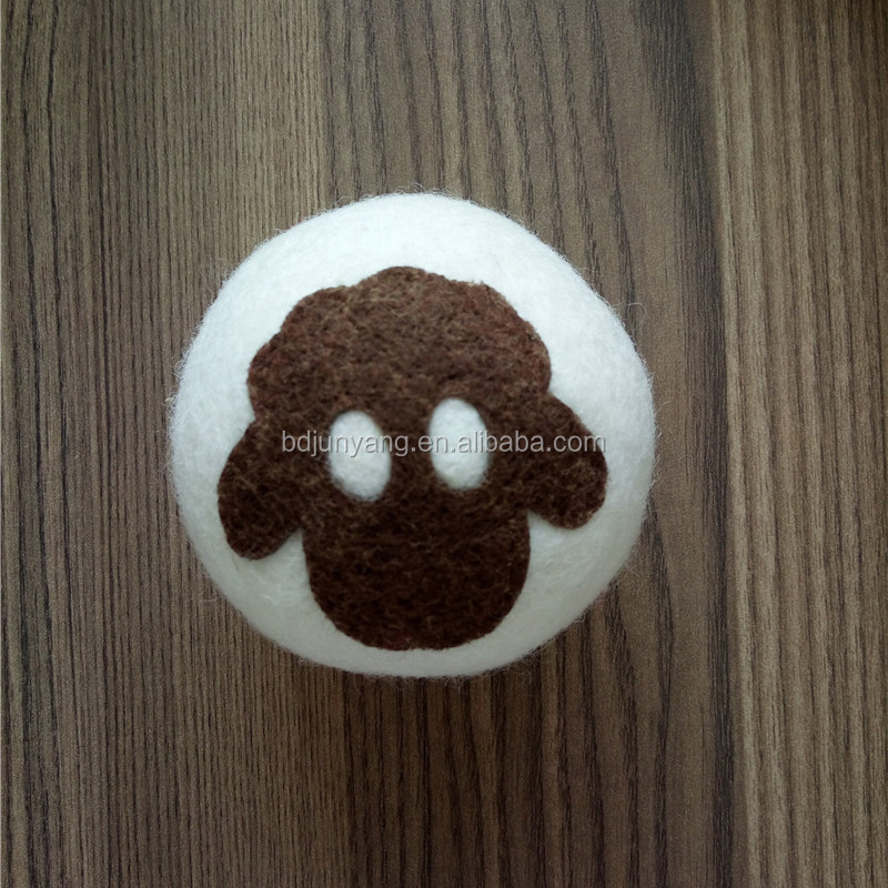 China supplier 100%organic felt dryer balls wool dryer balls wool felt wash ball