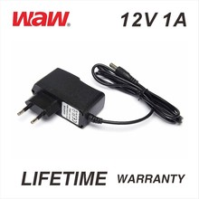12V 1A ac to dc power adapter for cctv camera and LED strip