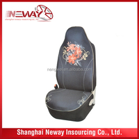 stock mesh and polyester car seat cover