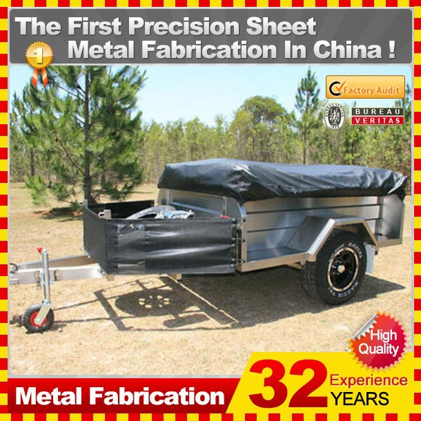 customized made off road low bed truck trailer long vehicle