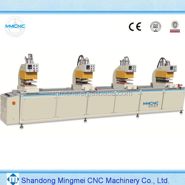 Maxicut PVC Window Door Production Line 4 Head Pvc Window Welding Machine