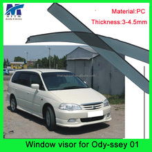 3D design PC mterial visor japanese car accessories for Ody-ssey 01