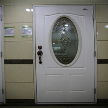 hollow metal door with 9 lite glass,exterior steel glass door,glass door