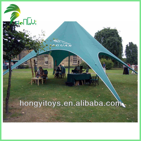 Fashion Green Star Shaped Tent