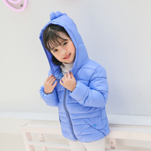 Q2-baby March Expo Causal Hooded Kids Winter Clothes Italian Girls Coats Jackets