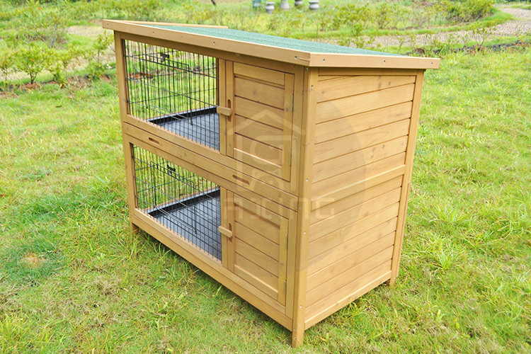 Professional made hot selling portable rabbit cages used