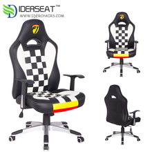 F1 Leather Car Seat Swivel Racing Office Chair With Armrest Alibaba Store