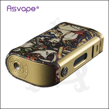 2017 most popular squonk mod 10ml bottome feeder box mod aluminum Asvape Michael