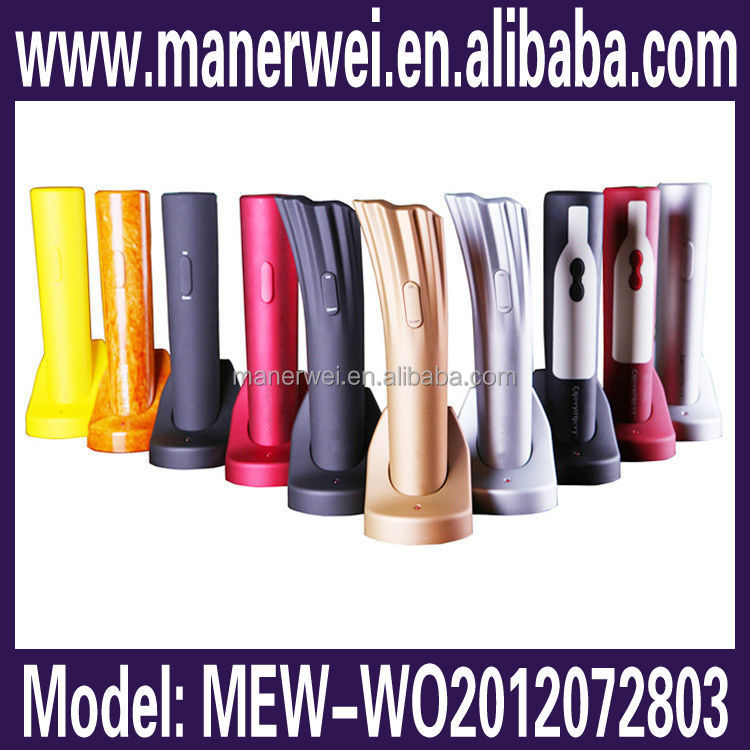 High quality elegant looking multi-purpose air pump wine colorful electric can opener