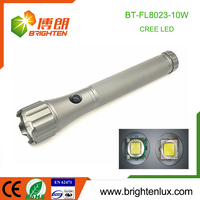 Factory Bulk Sale Most Powerful Aluminum Tactical 10watt flat led flashlight