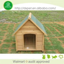 Professional made fashional fir wood dog house wood
