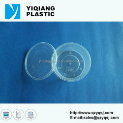 Popular 10oz clear plastic round food containers for restaurant use