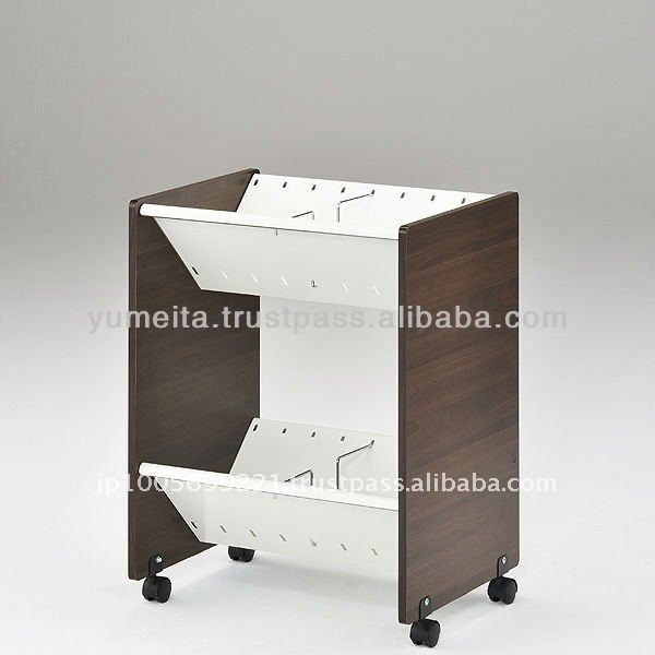 Japanese High-Quality Multi Office Supplies 2 or 3-Shelf Storage Cabinet Information to Office Furniture Distributor