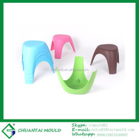 plastic small baby chair mould