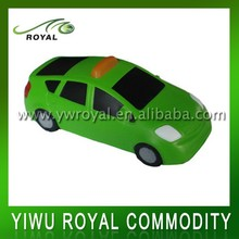 Custom Taxi Shaped PU Stress Reliever Car Toy