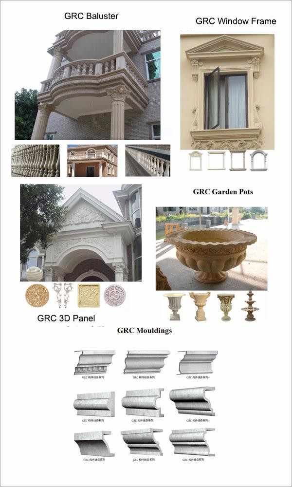 Grc Cladding Colors : Negotiable price non deformation sound absorbing grc wall