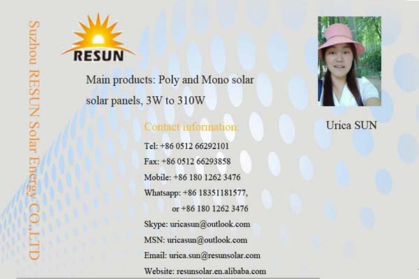PV polycrystallin 300watt panel with solar panel frame in china