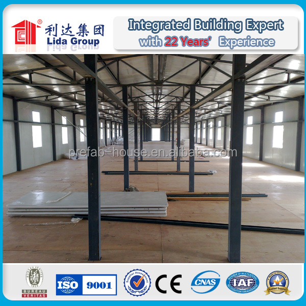 china building site low cost affordable modular prefab houses