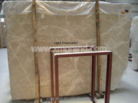 Turkish Light Emperador marble slabs, cheap natural stone tiles and table