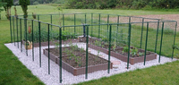 Rabbit Guard Fence for rabbit proofing