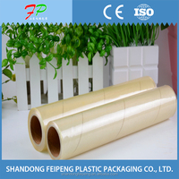 transparent and soft plastic film wrap pvc cling film for keeping fresh
