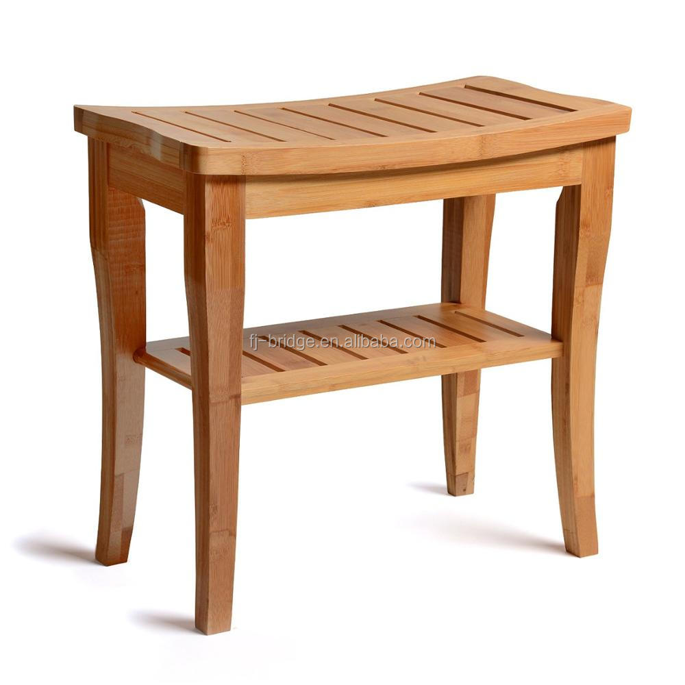 bamboo wooden chair natural bamboo shower bench