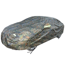 Low Prices Waterproof Camouflage Magnetic Car Cover