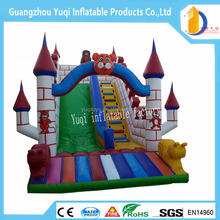 Factory price inflatable slide ,inflatable tiger slides for children slide ,adult jumping slide inflatables for sale