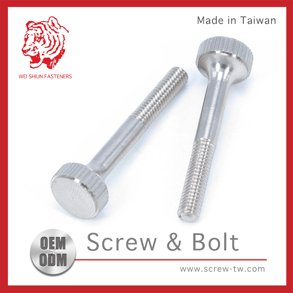 Taiwan Quality Assurance Stainless Steel Screw Knob for Home Depot