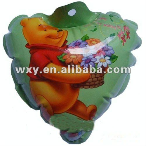 hot selling self inflating mylar balloon