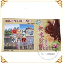 Wholesale printed giftware with pvc window promotional candle box magnetic closure gift boxes