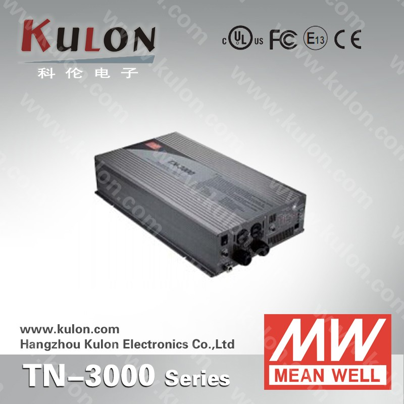 TN-3000 MeanWell Inverter 3000W Pure Sine Wave Inverter DC To AC Power Inverter With Charger For Solar Power System