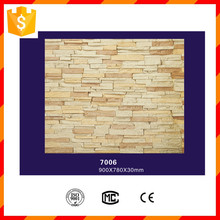 Factory price light weight durable exterior polyurethane faux stone panel
