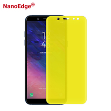 Nano Edge Newest Invisible Touch Sensitive Self Repair 3D Screen Protector For Samsung A6 Plus