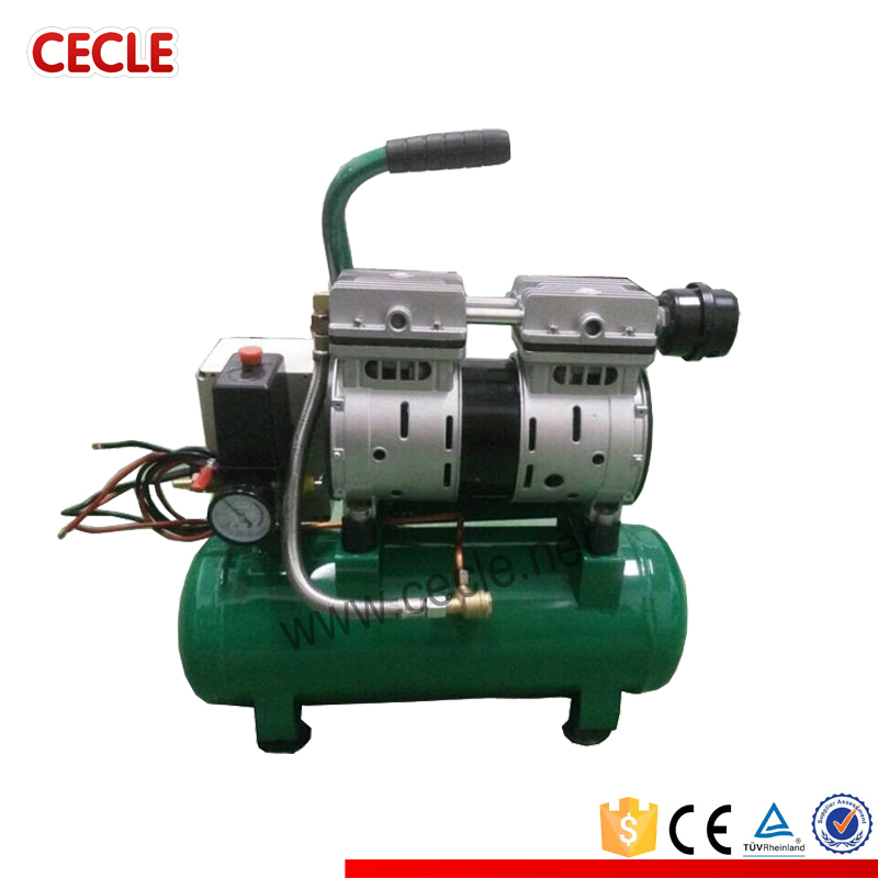 oil free electric quiet air compressor