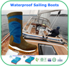 Remarkable Breathable Membrane Waterproof Leather Sailing Boots