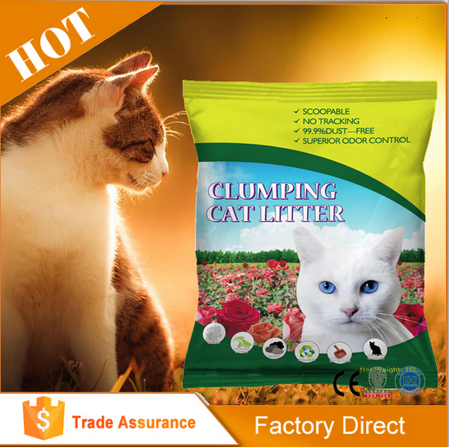 OEM Pet Products 2016 Newest Hot-Selling Cheap Bentonite Cat Litter for Wholesale, Cat Litter Sand