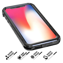 New Three Proofing Waterproof Dirt Proof Shockproof Submersible Phone Case For iPhone X