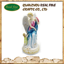 Custom beautiful resin angel figure