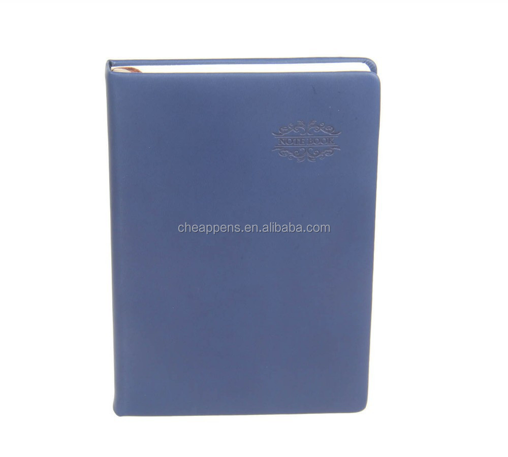 Softcover Custom Printed Leather Square Lined Paper Writing Notebook