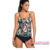 Double Shoulder Straps Navy One-piece Swimdress 2016 picture hot sex girl bikinis