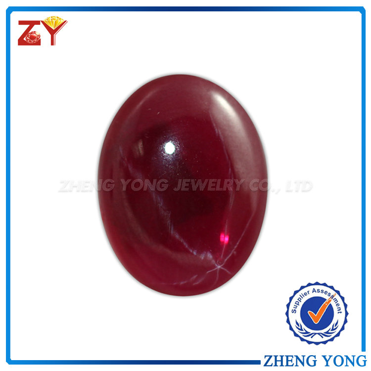 Cabochon Synthetic Star Ruby/Oval Cut Star Sapphire/Star Ruby Sapphire for Sale
